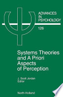 System Theories And A Priori Aspects Of Perception book