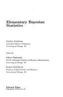 Elementary Bayesian Statistics