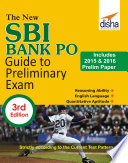The New Sbi Bank Po Guide To Preliminary Exam With 2015 2016 Solved Paper 3rd Edition