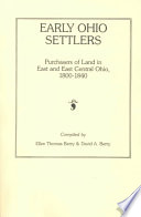 Read Early Ohio Settlers