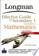 Leg Maths S1 S e