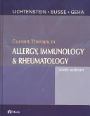 Current Therapy In Allergy Immunology And Rheumatology book