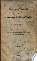 Jahresbericht des Naturwissenschaftlichen Vereins zu Bremen