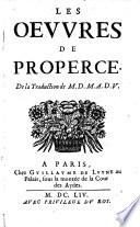 Les Oeuvres, de la traduction de M. D. M. A.D. V