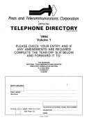Zimbabwe Rhodesia Telephone Directory