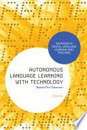 Autonomous Language Learning with Technology