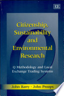 Citizenship  Sustainability and Environmental Research
