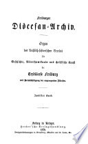 Freiburger Diözesan-Archiv
