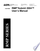 RMP Submit user s manual for RMP Submit version 1 07  issued January 4  1999