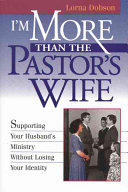 I Am More Than the Pastor s Wife