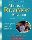 Making Revision Matter