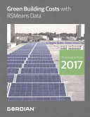 Green Building Costs With RSMeans Data 2017