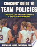 Coaches  Guide to Team Policies