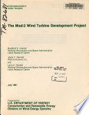 The Mod 2 wind turbine development project