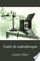 Traite de radiotherapie