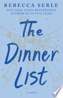 The Dinner List Book PDF