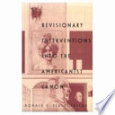 Revisionary Interventions Into the Americanist Canon