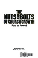The Nuts And Bolts Of Church Growth