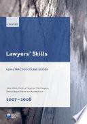 Lawyers  Skills 2007 2008