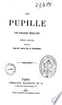 La pupille roman anglais par Frances Trollope