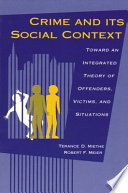 Crime and its Social Context