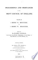 1 Henry VI  1422 to 7 Henry VI  1429