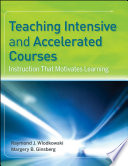Teaching Intensive and Accelerated Courses