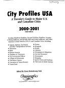 City Profiles United States of America