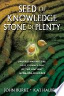 Seed of Knowledge  Stone of Plenty