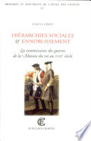 Hiérarchies sociales et ennoblissement
