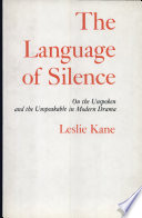 The Language of Silence Albee And Beckett This Critical