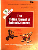 The Indian Journal of Animal Sciences