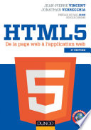 illustration du livre HTML5 - 2e éd.