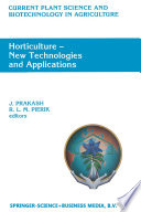 Horticulture     New Technologies and Applications
