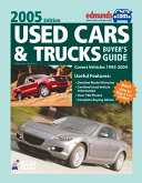 Reviews Used Cars & Trucks Buyer's Guide 2005 Annual