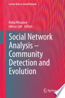 Social Network Analysis   Community Detection and Evolution