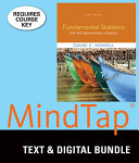 Fundamental Statistics for the Behavioral Sciences   Mindtap Psychology  12 month Access