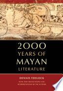 2000 Years of Mayan Literature