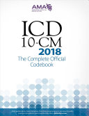 ICD-10-CM 2018 the Complete Official Codebook