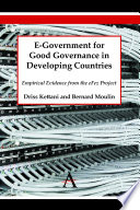 E Government For Good Governance In Developing Countries