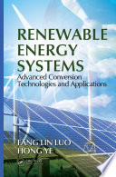 Ebook Renewable Energy Systems Epub Fang Lin Luo,Ye Hong Apps Read Mobile
