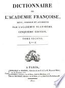 Dictionnaire de l Acad  mie Franc  oise