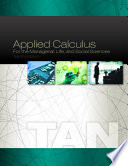 Applied Calculus for the Managerial  Life  and Social Sciences