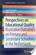 Perspectives on Educational Quality