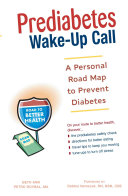 download ebook prediabetes wake-up call pdf epub
