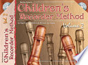 Children s Recorder Method  Volume 2