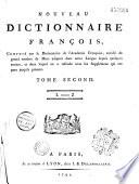 Nouveau dictionnaire fran  ais  compos   sur le Dictionnaire de l Acad  mie fran  aise
