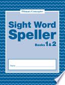 Sight Word Spellers 1 2 EBooks