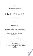 A Select Collection of Old Plays: Historia histrionica ; God's promises