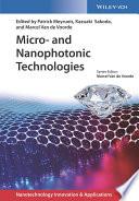 Micro  and Nanophotonic Technologies